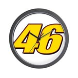 VR46RL3 Wall Clock