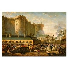 The Taking of the Bastille, 14 July 1789 (oil on c