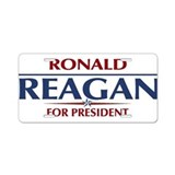 Ronald Reagan President Aluminum License Plate