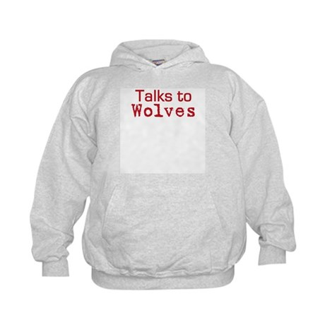 Talks to Wolves Kids Hoodie