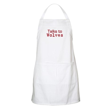 Talks to Wolves BBQ Apron