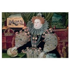 Elizabeth I, Armada Portrait, c.1588 (oil on panel