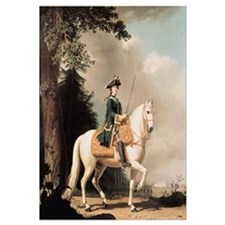 Equestrian Portrait of Catherine II (1729-96) the