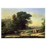 Landscape with Cephalus and Procris Reunited by Di