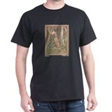 Bilibin's Baba Yaga Black T-Shirt