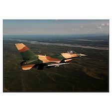 An F 16C Aggressor aircraft participates in exerci