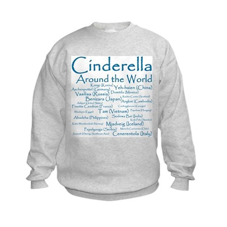 Cinderella Around the World Kids Sweatshirt