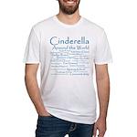Cinderella Around the World Fitted T-Shirt