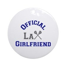 LaCrosse Girlfriend Ornament (Round)