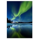 Aurora Borealis over Sandvannet Lake in Troms Coun