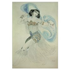 Costume design for Salome in 'Dance of the Seven V