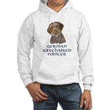 German Wirehaired Pointer Hoodie Sweatshirt