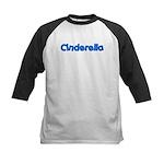Cinderella (Blue) Kids Baseball Jersey