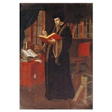 Portrait of John Calvin (1509-64), French theologi