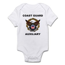 USCG Auxiliary Image<BR> Infant Creeper 1