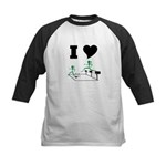 SteepleChics Kids Baseball Jersey
