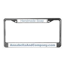 Annabella License Plate Frame