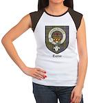 Taylor Clan Crest Tartan Women's Cap Sleeve T-Shir