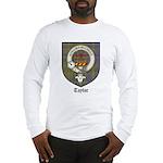 Taylor Clan Crest Tartan Long Sleeve T-Shirt