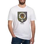 Taylor Clan Crest Tartan Fitted T-Shirt