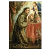 St. Anthony of Padua (1195-1231) adoring the Chris