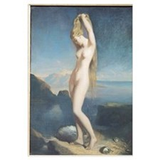Venus Anadyomene, or Venus of the Sea, 1838 (oil o