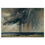 Rainstorm over the Sea, c.1824-28 (oil on paper la