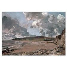 Weymouth Bay with Jordan Hill, c.1816 (oil on canv