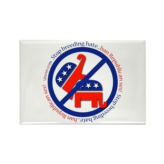 Ban Republican Sex Rectangle Magnet