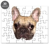 Fawn Black Mask French Bulldog Puzzle