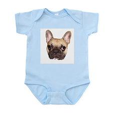 Fawn Black Mask French Bulldog Infant Bodysuit