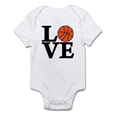 Basketball LOVE Infant Bodysuit