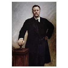 Theodore Roosevelt (colour litho)