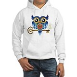 Owl on Skeleton Key Jumper Hoody