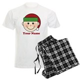 Personalized Christmas Elf  Pyjamas