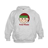 Personalized Christmas Elf  Hoodie