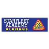 Starfleet Alumni Car Sticker