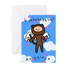 I'm Bananas for You Monkey Valentine's Card