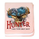 Hunter take your best shot De baby blanket