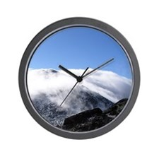 Mount Adams Enshrouded - Wall Clock