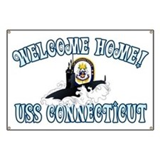Welcome USS Connecticut! Banner