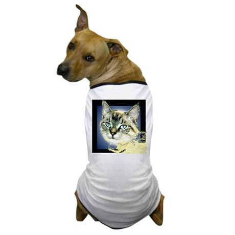 Blue Eyed Kitten Dog T-Shirt