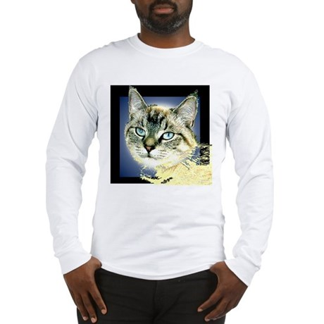 Blue Eyed Kitten Long Sleeve T-Shirt