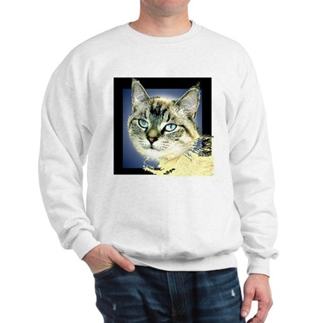 Blue Eyed Kitten Sweatshirt