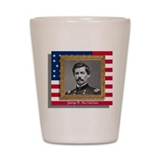 George B. McClellan Shot Glass