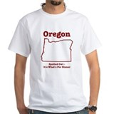 Oregon: Spotted Owl - It's What's For Dinner Shirt