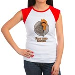Fighting Cocks Women's Cap Sleeve T-Shirt