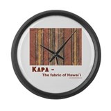 Kukui Dreams Large Wall Clock