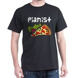 Pianist Fueled By Pizza T-Shirt