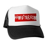 HAMFATTER.COM Red Card Trucker Hat